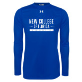 Under Armour Royal Long Sleeve Tech Tee-New College Established