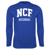 Performance Royal Longsleeve Shirt-Quizbowl