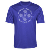 Performance Royal Heather Contender Tee-Primary
