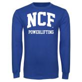 Royal Long Sleeve T Shirt-Powerlifting