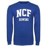Royal Long Sleeve T Shirt-Rowing