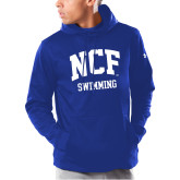 Under Armour Royal Armour Fleece Hoodie-Swimming
