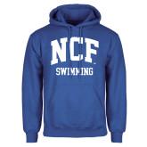 Royal Fleece Hoodie-Swimming