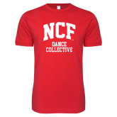 Next Level SoftStyle Red T Shirt-Dance Collective