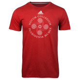 Adidas Climalite Red Ultimate Performance Tee-Primary