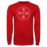 Red Long Sleeve T Shirt-Primary