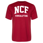 Performance Red Tee-Powerlifting