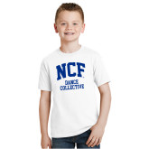 Youth White T Shirt-Dance Collective