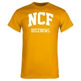Gold T Shirt-Quizbowl