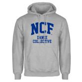 Grey Fleece Hoodie-Dance Collective