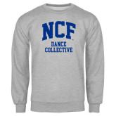 Grey Fleece Crew-Dance Collective