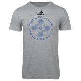 Adidas Sport Grey Logo T Shirt-Primary