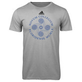 Adidas Climalite Sport Grey Ultimate Performance Tee-Primary