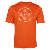 Performance Orange Heather Contender Tee-Primary