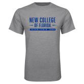 Grey T Shirt-New College Established