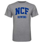 Grey T Shirt-Rowing