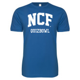 Next Level SoftStyle Royal T Shirt-Quizbowl