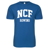 Next Level SoftStyle Royal T Shirt-Rowing