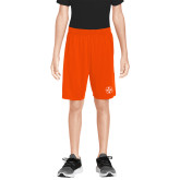 Youth Orange Competitor Shorts-Primary