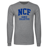 Grey Long Sleeve T Shirt-Dance Collective