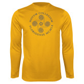 Performance Gold Longsleeve Shirt-Primary