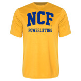 Performance Gold Tee-Powerlifting