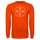Orange Long Sleeve T Shirt-Primary