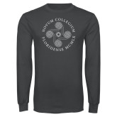 Charcoal Long Sleeve T Shirt-Primary