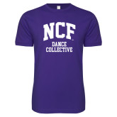 Next Level SoftStyle Purple T Shirt-Dance Collective
