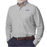 Elitech Graphite Prestige Knit Long Sleeve Shirt-Wordmark