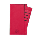 Parker Red RFID Travel Wallet-Primary Engraved