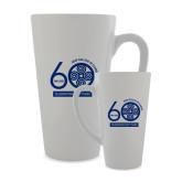 Full Color Latte Mug 17oz-60th Anniversary