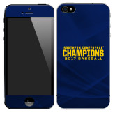 iPhone 5/5s/SE Skin-Baseball SoCon Champions 2017 Text