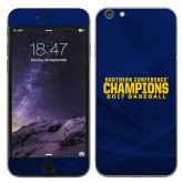 iPhone 6 Plus Skin-Baseball SoCon Champions 2017 Text