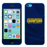 iPhone 5c Skin-Baseball SoCon Champions 2017 Text