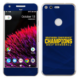 Google Pixel Skin-Baseball SoCon Champions 2017 Text