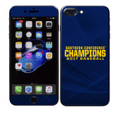 iPhone 7 Plus Skin-Baseball SoCon Champions 2017 Text