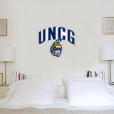 1.5 ft x 2 ft Fan WallSkinz-Arched UNCG w/Spartan