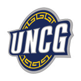Medium Decal-UNCG Shield, 8 inches wide