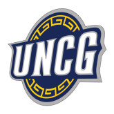Large Decal-UNCG Shield, 12 inches wide