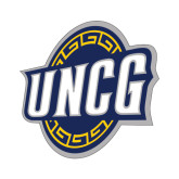 Small Decal-UNCG Shield, 6 inches wide