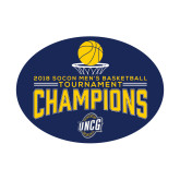 Small Decal-2018 Mens Basketball Champions - Net w/ Basketball