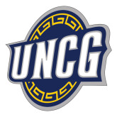 Extra Large Decal-UNCG Shield, 18 inches wide