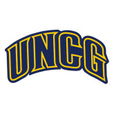 Extra Large Decal-Arched UNCG, 18 inches tall