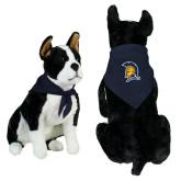 Navy Pet Bandana-Spartan Logo