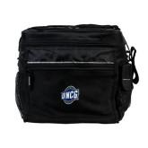 All Sport Black Cooler-UNCG Shield