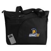 Excel Black Sport Utility Tote-Lock Up