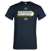 Navy T Shirt-2017 SoCon Regular Season Softball Champions - Ball