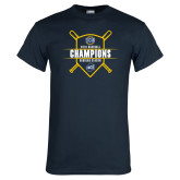 Navy T Shirt-2018 Baseball Regular Season Champions