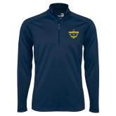 Syntrel Navy Interlock 1/4 Zip-Baseball SoCon Champions 2017 - Diamond